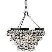 Bling Chandelier/Semi-Flushmount (Nickel) - OPEN BOX RETURN