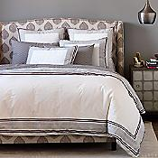 Blockprint Border Bedding Collection