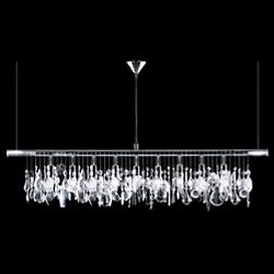 Broadway Linear Crystal Chandelier