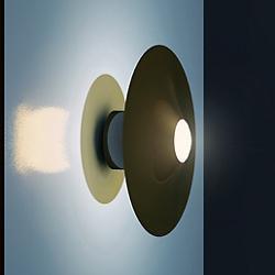 Bullarum Disc Wall Sconce
