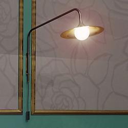 """Bullarum Solo """"A"""" Long Wall Lamp"""