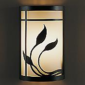 Byron's Leaves Wall Sconce
