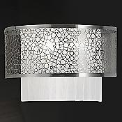 Caledon Wall Sconce (White/Nickel/Large) - OPEN BOX RETURN