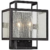 Camden Square Clear Wall Sconce