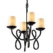 CandleAria Capellini Cylinder Chandelier