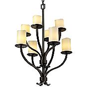 CandleAria Sonoma 2-Tier Chandelier