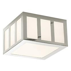 Capital LED Square Flushmount (Polished/Small) - OPEN BOX