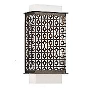 Clarus Square Wall Sconce