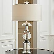 Classic Bulb Crystal Table Lamp