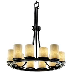 Clouds Dakota 12-Light Ring Chandelier