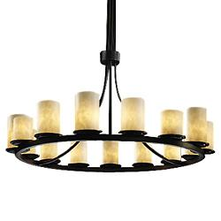 Clouds Dakota Ring Chandelier