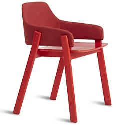 Clutch Red Dining Chair