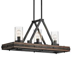 Colerne 3 Light Linear Chandelier
