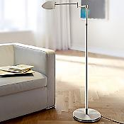 Color-Blend LED Swingarm Floor Lamp