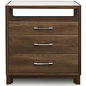 Contour 3 Drawer Dresser and TV Organizer