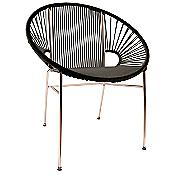 Copper Concha Chair