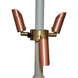 Copper LED Umbrella Lights