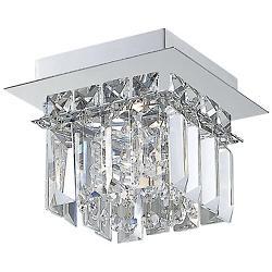 Crown 1-Light Flushmount