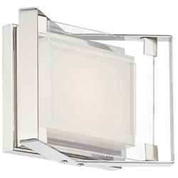 Crystal Clear LED Wall Sconce