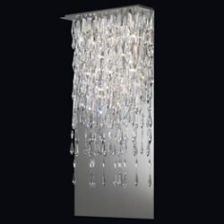 Crystalline Icicles Wall Sconce