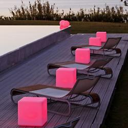 Cube LED Indoor/Outdoor Lamp