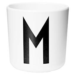 Design Letters Cup A-Z (Letter M) - OPEN BOX RETURN