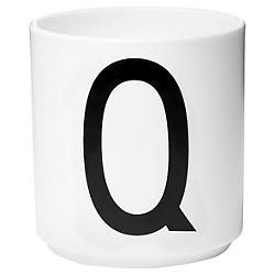 Design Letters Cup A-Z (Letter Q) - OPEN BOX RETURN