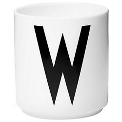Design Letters Cup A-Z (Letter W) - OPEN BOX RETURN