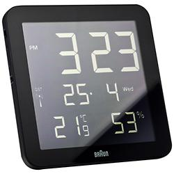 Digital Wall Clock (Black) - OPEN BOX RETURN