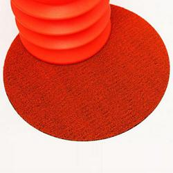 Dot Shag Indoor/Outdoor Mat (Orange) - OPEN BOX RETURN