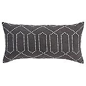 Dotted Trellis Long Pillow