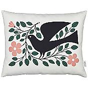 Dove Graphic Pillow (Multicolor) - OPEN BOX RETURN
