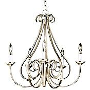 Dover Scroll Chandelier