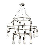 Downtown Edison 3-Tier Chandelier