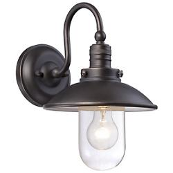 Downtown Edison Domed Outdoor Wall Sconce