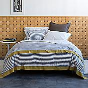 Draper Stripe Bedding Collection