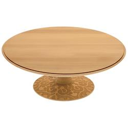 Dressed In Wood Cake Stand
