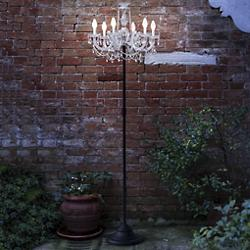 Drylight Outdoor Tall Floor Lamp