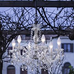 Drylight Small Outdoor Chandelier