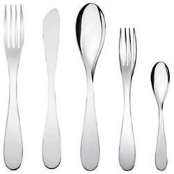 Eat.it 5 pc. Cutlery Set (Mirror Polished) - OPEN BOX RETURN
