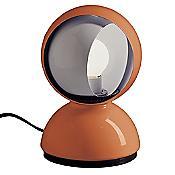 Eclisse Bedside Table Lamp (Orange) - OPEN BOX RETURN
