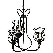 Encaged Chandelier