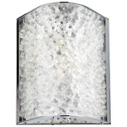 Encased Crystals Wall Sconce