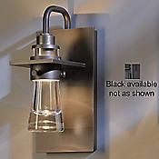 Erlenmeyer Outdoor Wall Sconce (Black/Lg) - OPEN BOX RETURN