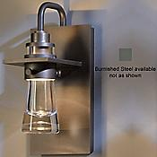 Erlenmeyer Outdoor Wall Sconce (Steel/Sm) - OPEN BOX RETURN