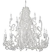 Fantasia 2-Tier Chandelier