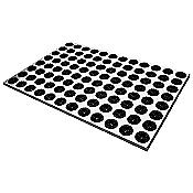 Feet-Back Doormat (Black/Small) - OPEN BOX RETURN