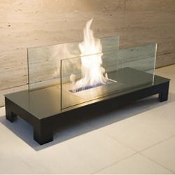 Floor Flame Fireplace