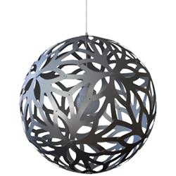 Floral Aluminum Pendant