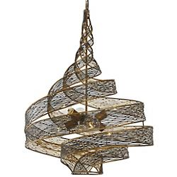 Flow Twisted Chandelier